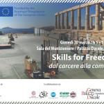 30 marzo 2017 – SKILLS FOR FREEDOM: DAL CARCERE ALLA COMUNITA', Genova