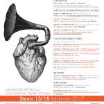"13/18 febbraio 2017 – ""METAMORFOSI"", Siena"