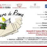 """17 marzo 2017 – """"LETTERE DA ROMA"""", Roma"""