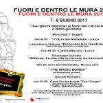 7 e 8 giugno 2017 – FUORI E DENTRO LE MURA, Lucca