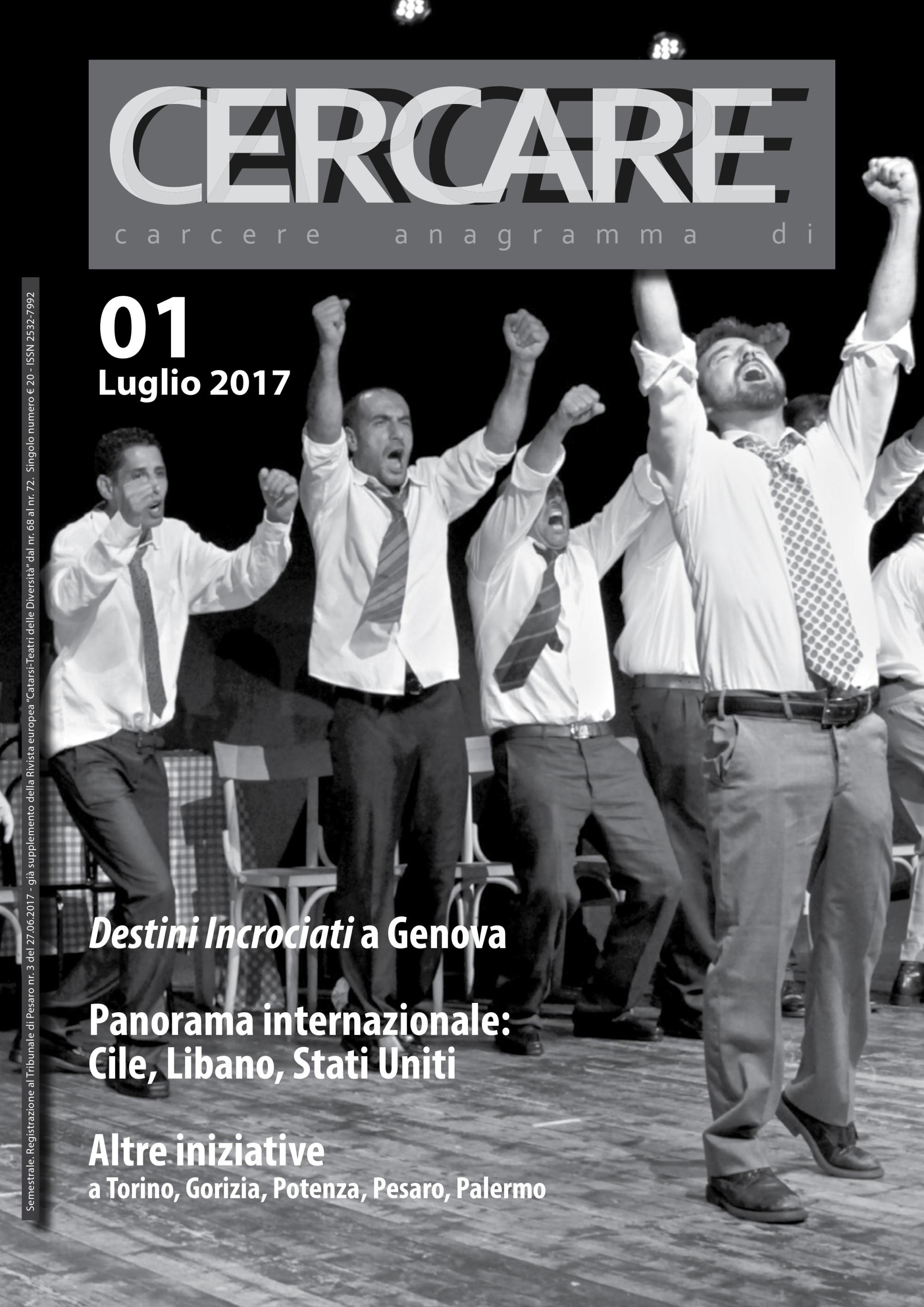 """Luglio 2017 – Rivista """"CERCARE"""" n.1"""