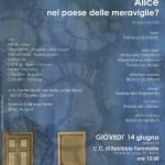 14 giugno 2018 – ALICE NEL PAESE DELLE MERAVIGLIE?, Roma