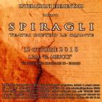 """12 ottobre 2018 – """"SPIRAGLI"""" Teatri dietro le quinte, Firenze"""