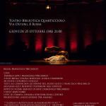 """25 ottobre 2018 – spettacolo """"OLTRE IL MURO: DIDONE, UNA STORIA SOSPESA"""", REBIBBIA"""