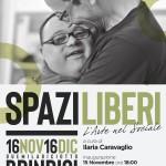 """15 novembre 2018 – Inaugurazione Mostra """"SPAZILIBERI"""", Brindisi"""