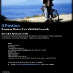 """Martedì 9 aprile 2019 ore 15.00 – Roma Rebibbia femminile. """"IL POSTINO"""" Omaggio a Massimo Troisi."""
